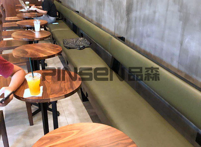 十日谈咖啡餐厅家具定制空间欣赏