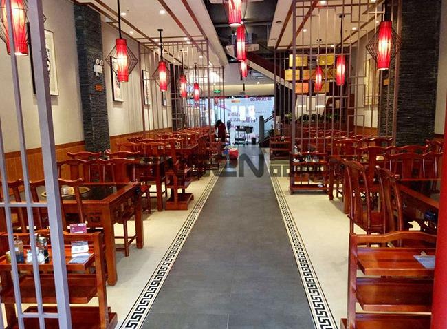 老码头(南山店)火锅桌椅定制案例