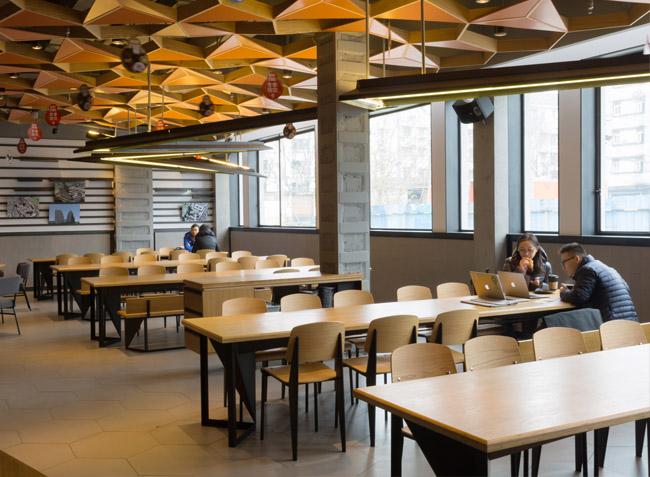 上海-麦汀餐厅家具定制