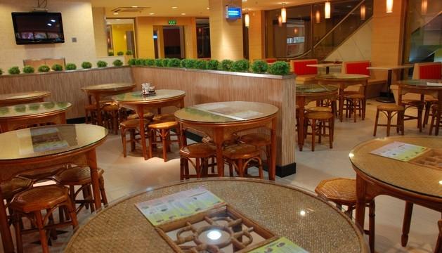 雅舍茶餐厅家具定制