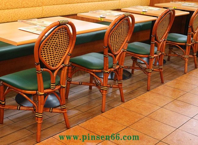 定制茶餐厅个性特色饭店餐桌椅