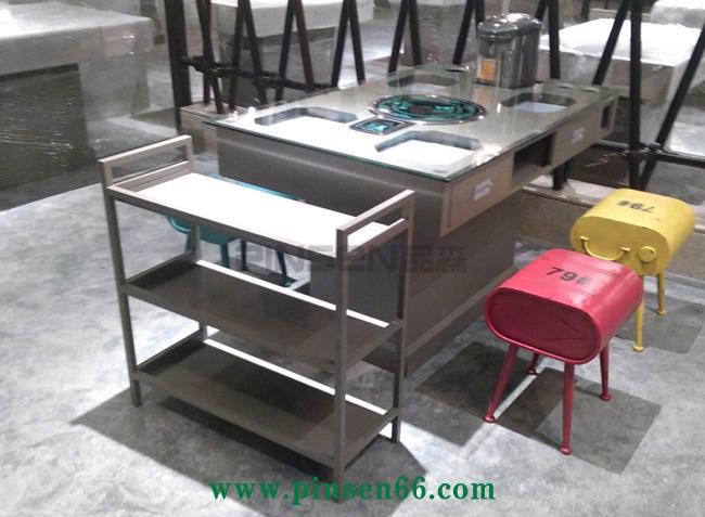 玻璃火锅桌椅