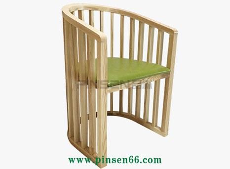 椰子鸡火锅店实木软包围椅