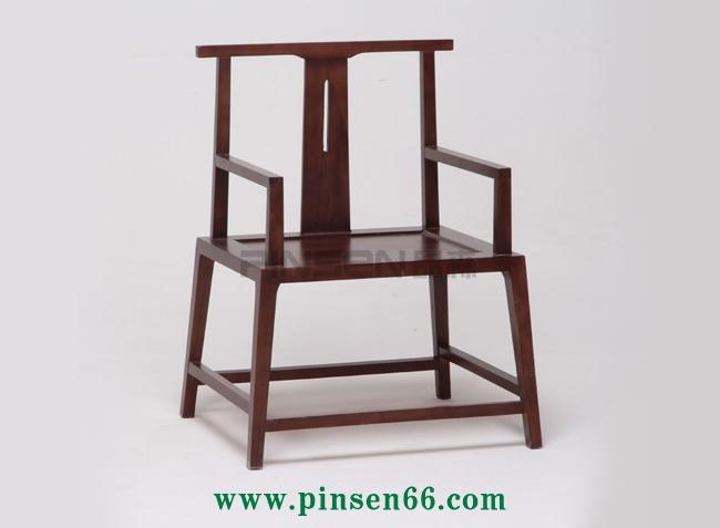 中式实木火锅椅