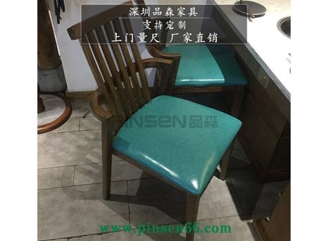 老火锅现代简约实木火锅桌椅