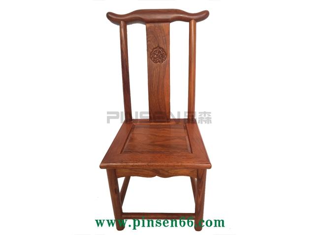 红木椅子儿童中式火锅椅古典小官帽椅