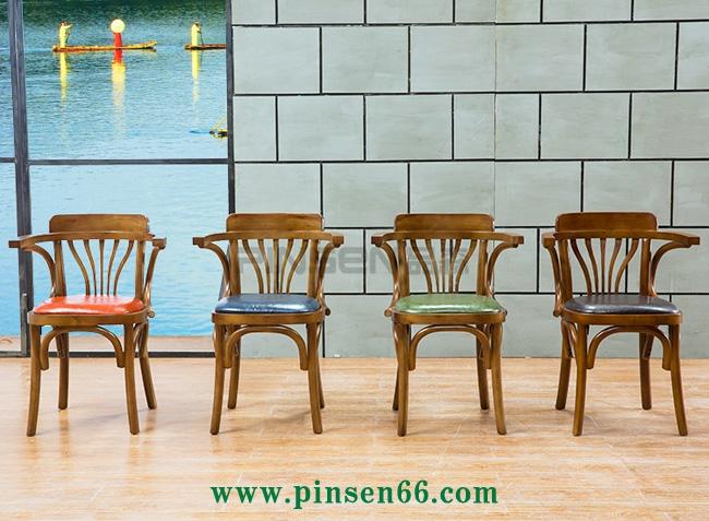 实木火锅椅围椅