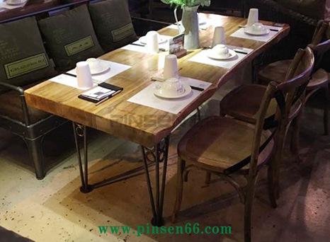 复古怀旧胡桃里音乐餐厅酒吧家具漫咖啡实木加