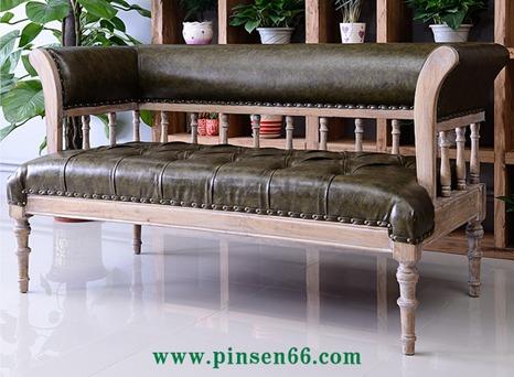 西餐厅卡座沙发012