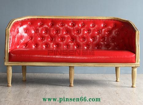 西餐厅卡座沙发018