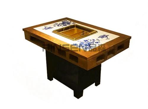 无烟火锅桌