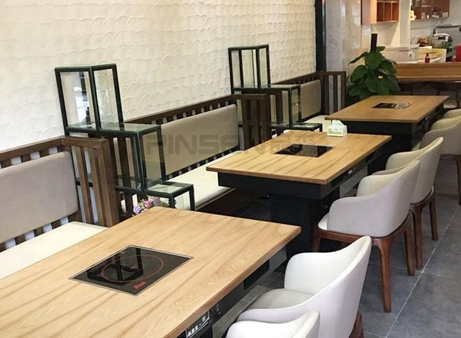 民煮私厨火锅桌椅定制