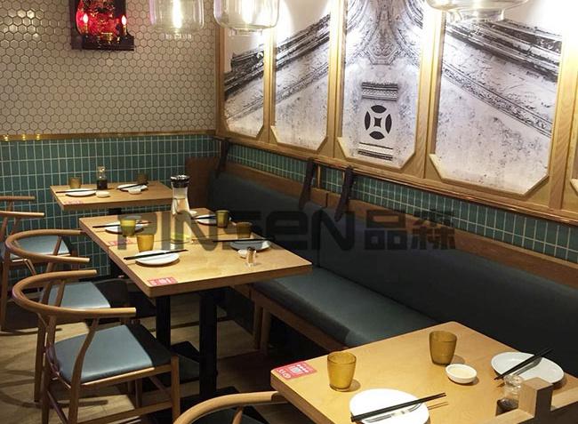 一勺卤·潮汕卤鹅饭店餐厅家具定制