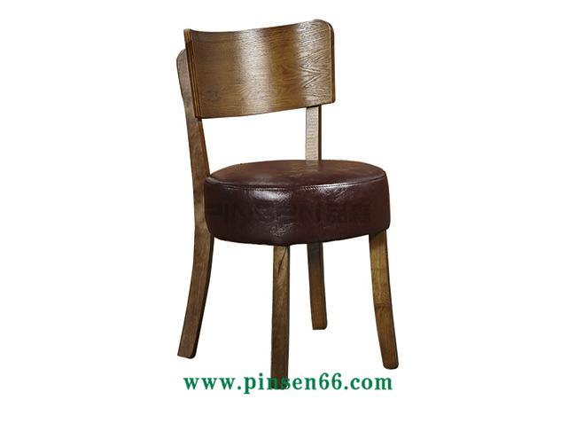 实木曲木软包椅