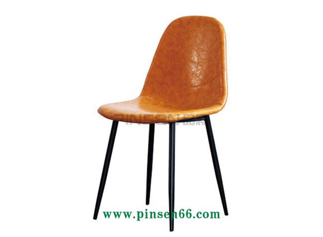 铁艺软包休闲餐厅桌椅