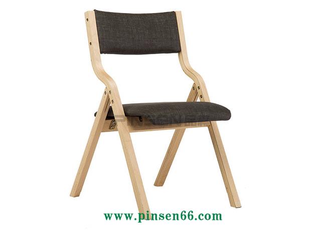实木软包布艺扶手椅
