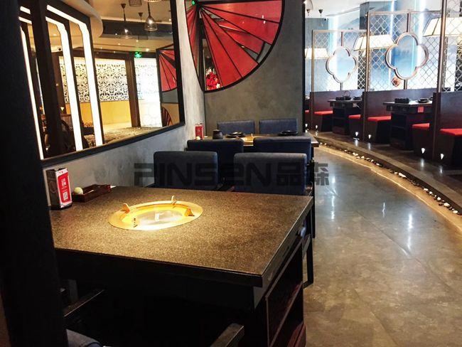 和味家·日式有料火锅(龙岗店)火锅桌椅空间欣赏