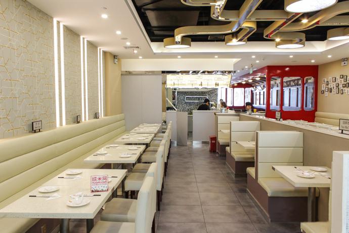 三巷茶餐厅餐桌餐椅定制