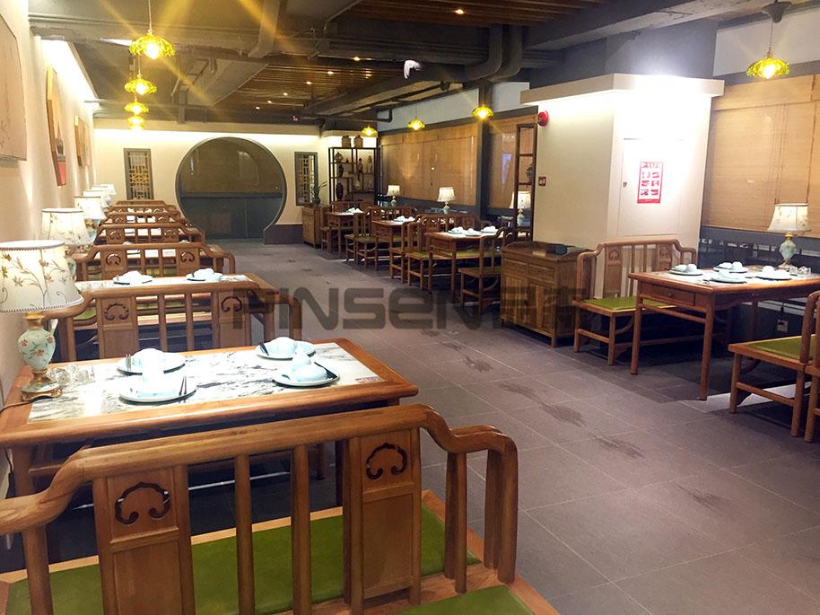 三修堂素食茶馆(新城市广场店)-茶餐厅桌椅定制