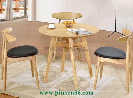 北欧实木餐桌椅14