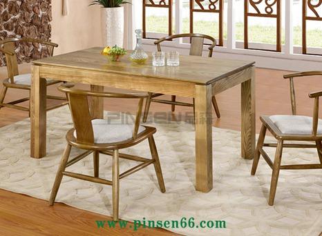 北欧实木餐桌椅15