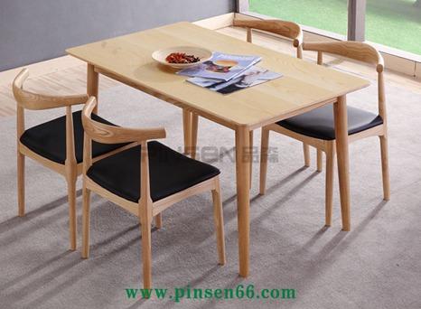 北欧实木餐桌椅20