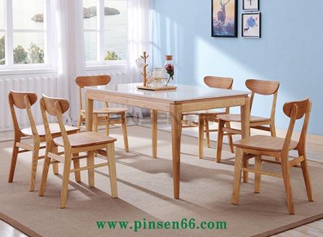 北欧实木餐桌椅21