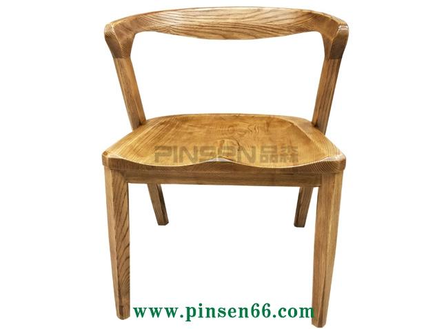 复古北欧实木椅子-北欧餐桌椅定制厂家