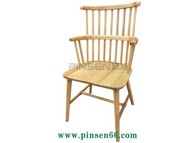 简约北欧实木椅子-北欧餐桌椅定制厂家