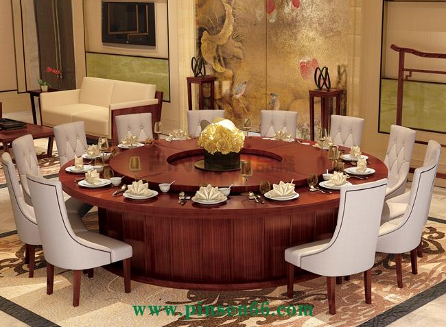 豪华电动餐桌