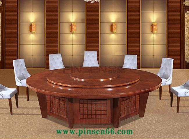 高品质是实木智能电动餐桌