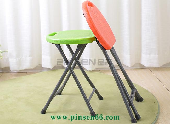 便携式折叠个性等位餐椅课桌椅