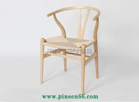 Y椅实木餐椅休闲咖啡吧台圈椅宜家餐厅会议办公