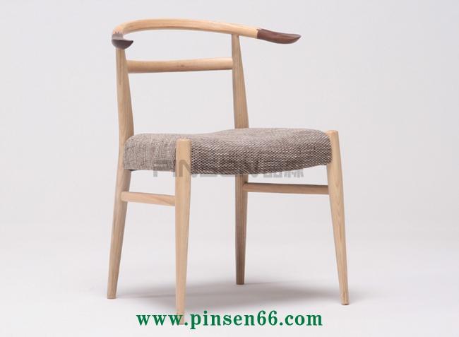 实木布艺软包火锅餐桌椅