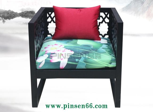 新中式休闲椅子