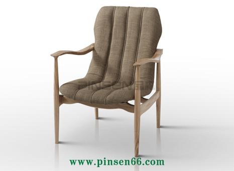 实木布艺软包咖啡厅餐桌椅