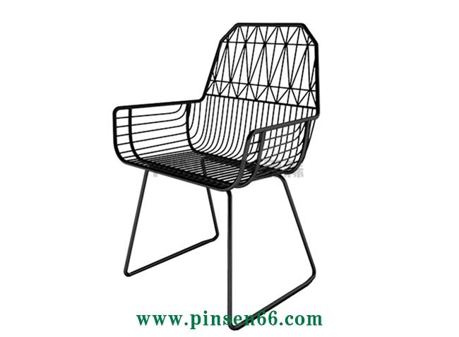 美式铁艺loft餐饮咖啡厅西餐厅餐桌椅