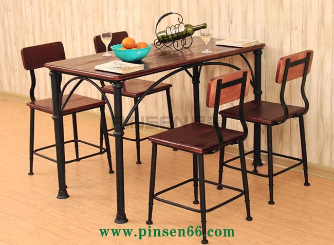 美式复古loft桌椅