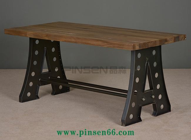 复古工业风铁艺沙发酒吧咖啡厅餐桌椅卡座沙发