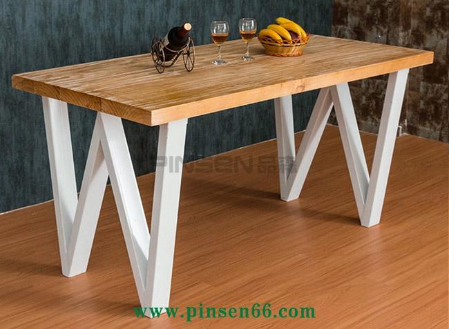 铁艺加固西餐厅餐桌椅定制