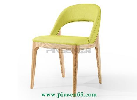 欧式椅现代欧风格实木餐椅主题餐厅椅子