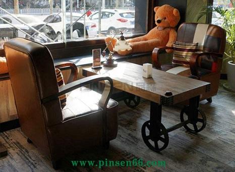 上岛咖啡厅家具定制空间欣赏
