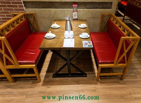 西贝深圳厂家定制实木桌椅