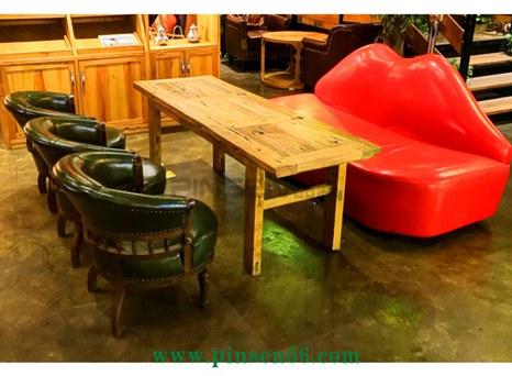 可可咖啡厅家具定制空间欣赏