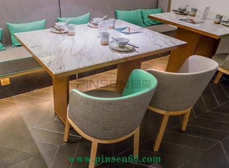 望芙楼湘菜餐馆餐厅餐桌椅