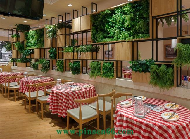 西贝莜面村(深圳中心城店)餐饮桌椅