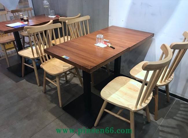 顺口溜(南山店)面馆实木桌椅