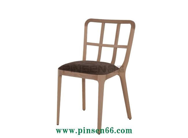 北欧实木主题西餐厅餐桌椅