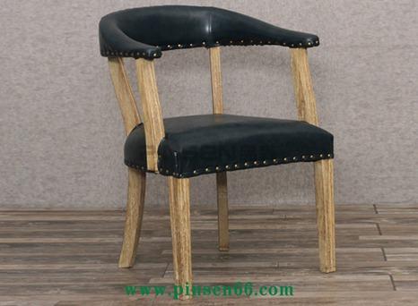 实木软包古典主题餐厅餐桌椅