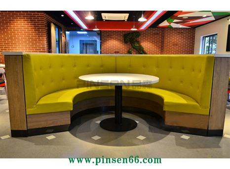 主题餐厅卡座沙发010